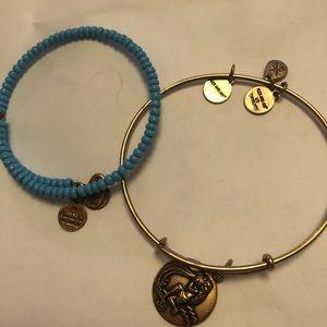Alex & Ani Aquarius Turquoise Set